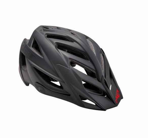 Met Terra MTB Helm Matt Black/Red