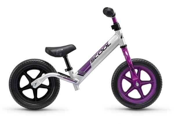 S´COOL pedeX Race Light 12'' anodized/silver/purple