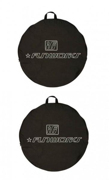 2x Fun Works Laufradtasche