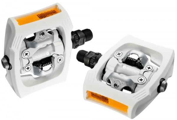 Shimano PD-T400 click'r pedal - white