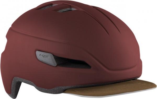 Met Corso helmet red