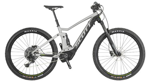 Scott Bike Strike eRide 930 silver/black 2019