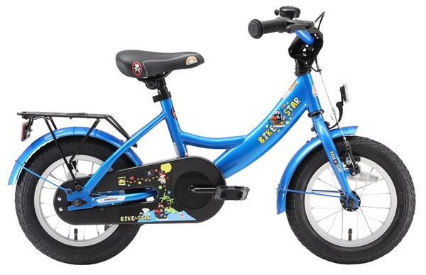 Bikestar Premium Kids Bike Classic 12'' adventure blue