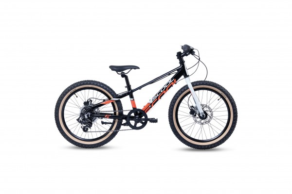 S´COOL Xroc 20 alloy 7-speed black/grey/red