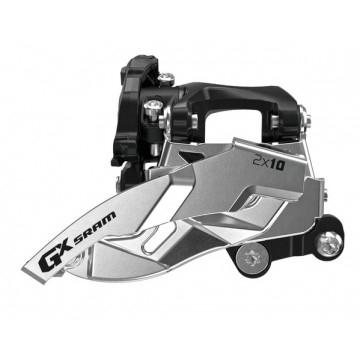 SRAM GX Umwerfer 2x10-fach - Low DM S3 (22,1 mm Lochabstand) - 22/36 Zähne - Dual Pull