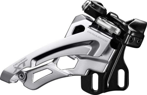 Shimano Deore XT Derailleur FD-M8000 3x11 Side-Swing, Direct mounting depth