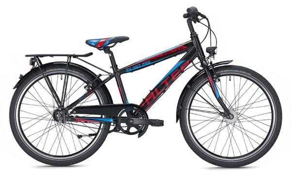 Falter FX 407 Pro 24 inch Diamant black/red Kids Bike