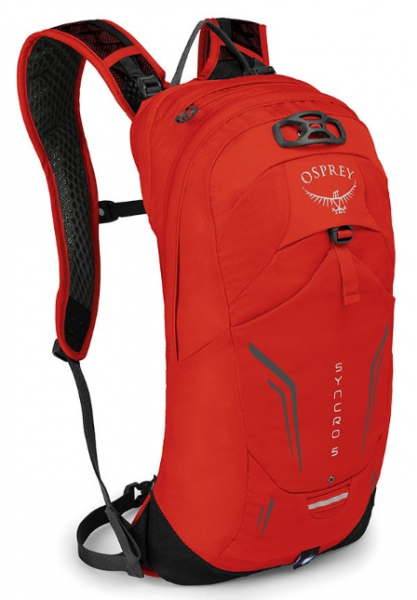 Osprey Syncro 5 firebelly red