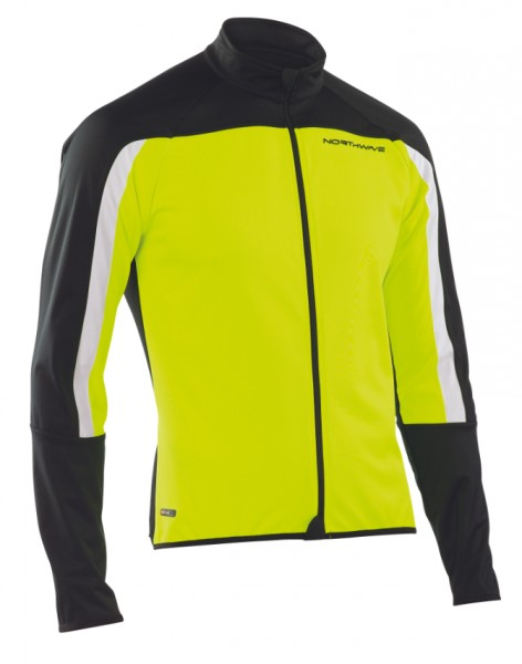 Northwave Sonic Jacket Yellow Fluo/Black