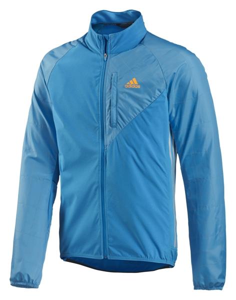 Adidas Tour Commuter Jacket solar blue s14/reflective silver