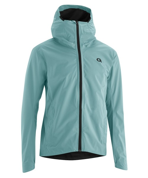 Gonso Save Plus Allwether Rain Jacket mineral blue