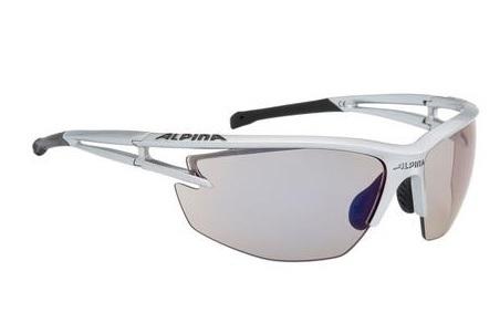 Alpina Eye-5 HR VLM+ Brille silver-black - Varioflex mirror+ blue
