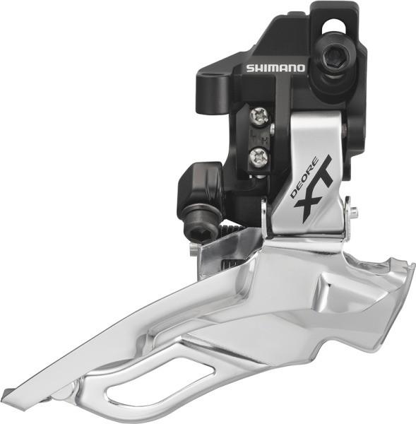 Shimano XT Umwerfer FD-M781AD-S DM Down Swing silber