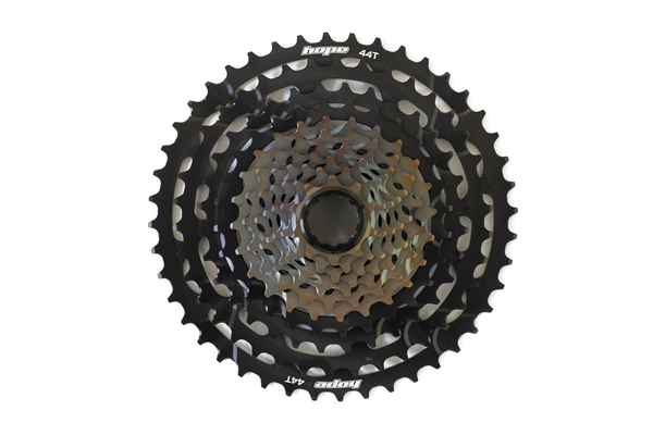 Hope 11-fach Cassette 10-44T incl. Hope Pro 2 Evo Freehub