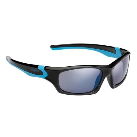 Alpina Flexxy Teen glasses black-cyan CERAMIC mirror blue S3