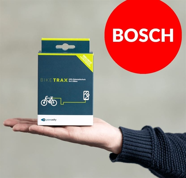 PowUnity Bike Trax - GPS Tracker for E-Bikes with Bosch Drivetrain