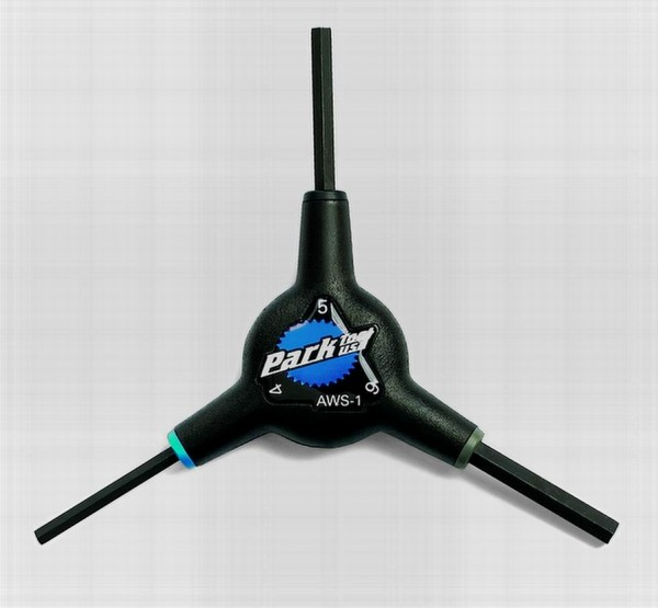 Park Tool AWS-1 3 Way Hex Wrench