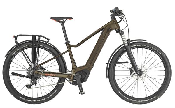 Scott Bike Axis eRide 20 Damen braun/schwarz 2019