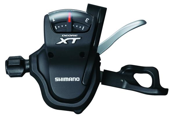 Shimano Schalthebel Deore XT Rapidfire SL-T780 links, 3-fach, mit Schelle