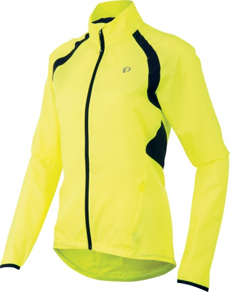 PPearl Izumi Women Elite Barrier Jacket screaming yellow
