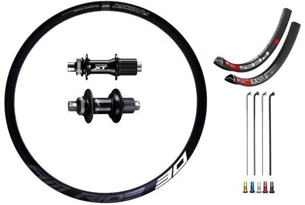 "Shimano XT Boost Disc CL Custom Rear Wheel MTB 29"""