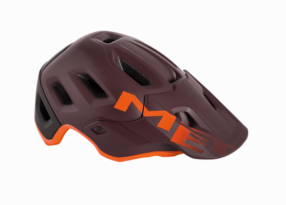 Met Roam Helmet burgundy orange