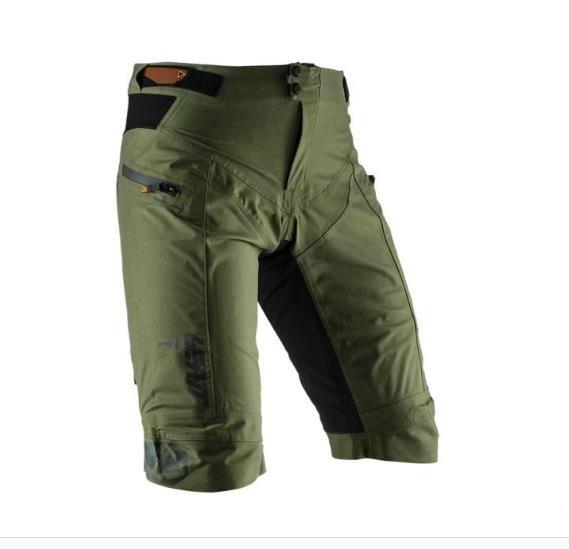 Leatt DBX 5.0 shorts All Mountain waterproof forest