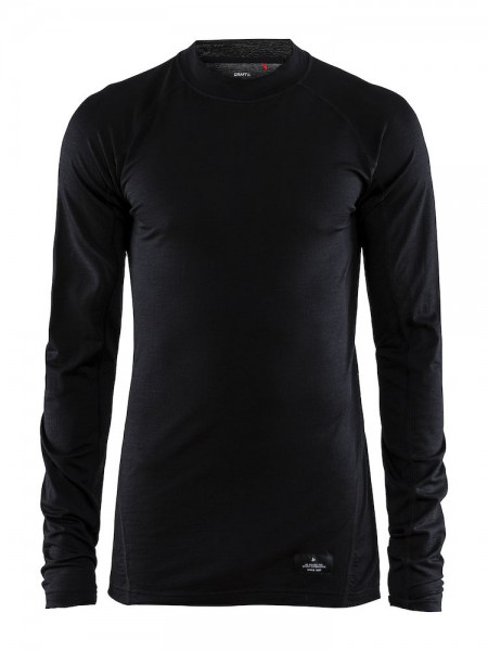 Craft Merino Lightweight CN LS black