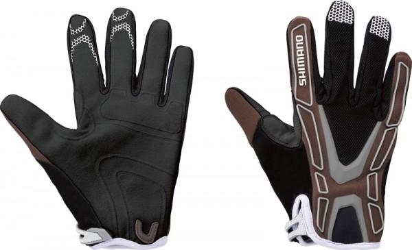 Shimano Team Gloves walnut