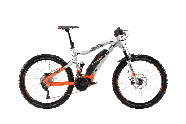 e12db3da6a8 Haibike SDURO Fullseven 8.0 silver/orange/olive | buy | ActionSports.de |  Bike Webshop