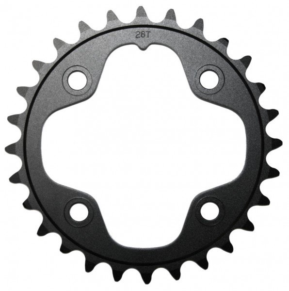 Truvativ chainring MTB 10-speed 28 teeth, black