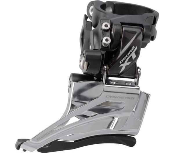 Shimano Deore XT Derailleur FD-M8025 2x11 Down-Swing, Clamp high