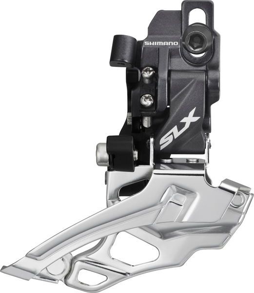 Shimano SLX Umwerfer FD-M676-D 2-fach Down Swing Direct Mount - Top-Pull
