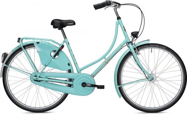 "Falter Classic Bike H 3.0 28 ""Turquoise Shiny"