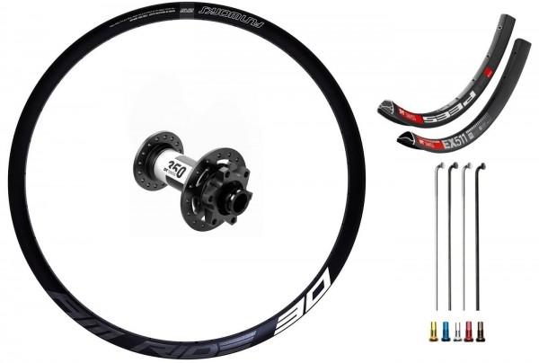 "DT Swiss 350 Disc IS Custom Front Wheel MTB 27,5"""