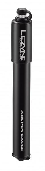 Lezyne Gauge Drive HV Minipumpe schwarz-glänzend