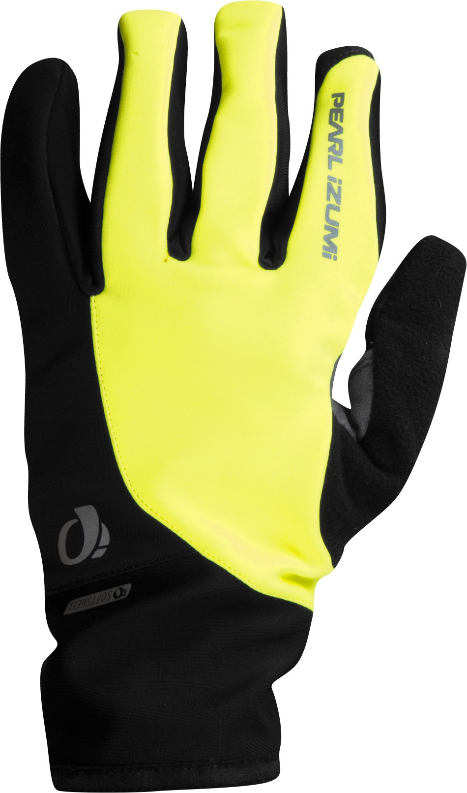 pearl izumi select softshell glove screaming yellow. Black Bedroom Furniture Sets. Home Design Ideas