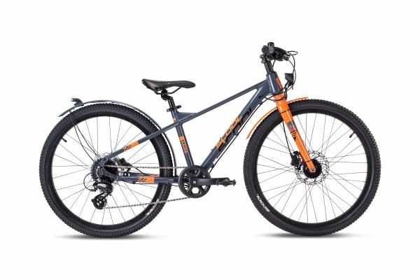 S´COOL XXLite Evo 24 alloy 8-speed grey/orange matt