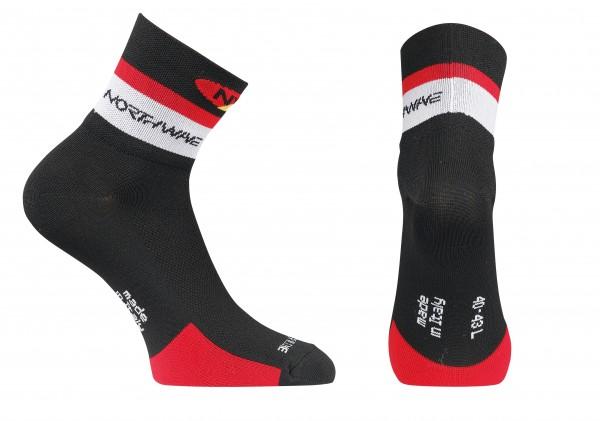 Northwave Logo Socks black/red