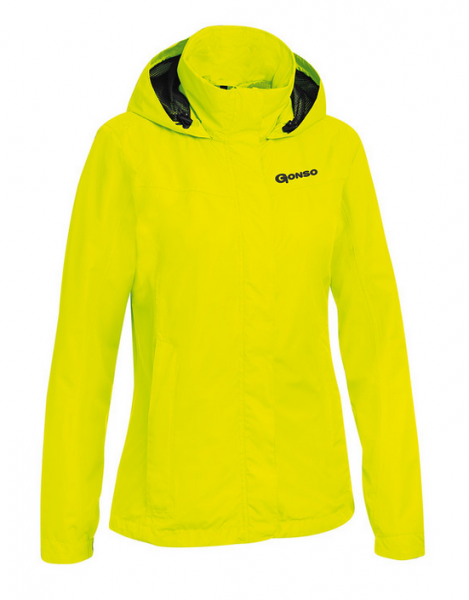 Gonso Sura Damen Allwetter Jacke safety yellow