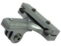 K-Edge Go Big Pro Saddle Rail Mount gunmetal