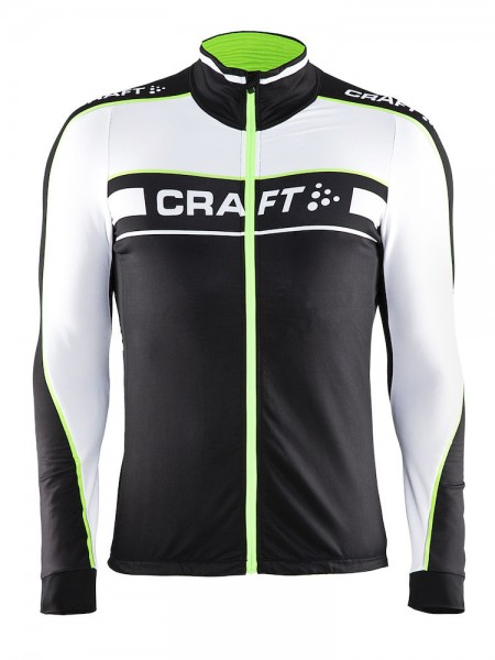 Craft Grand Tour LS Jersey black/gecko