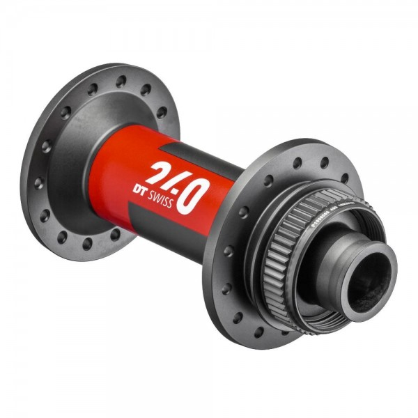DT 240 EXP Boost CL disc Front Hub centerlock black