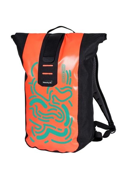 Ortlieb Velocity Design MAZE coral-turquoise
