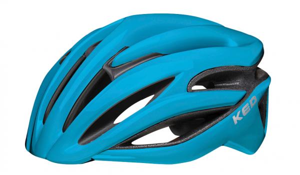 KED Rayzon Road Helmet blue