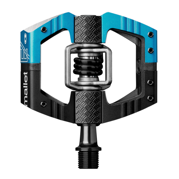 Crank Brothers Mallet LS Enduro Pedal - black/electric blue