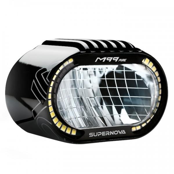 Supernova M99 Pure LED-Scheinwerfer für E-Bikes schwarz