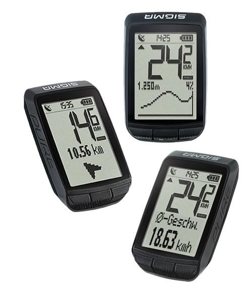 Sigma Fahrradcomputer Pure GPS - schwarz