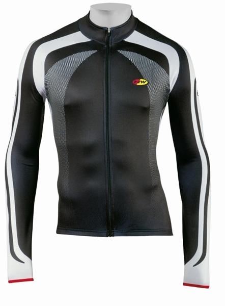 Northwave Logo Jersey Long Sleeves black