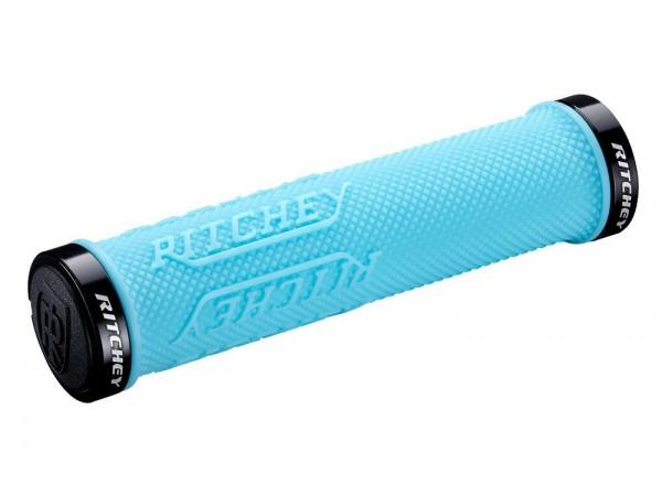 Ritchey WCS Truegrip X Lock Grips - sky blue